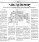 Defining Diversity. Fourth Estate. Sept 23 2013