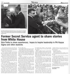 Secret Service Agent. Broadside. Mar 4 2013