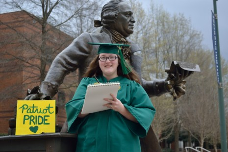 Leah's Graduation Photoshoot | GMU '16